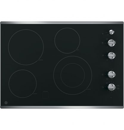 GE 30 Built-In Knob Control Electric Cooktop 01