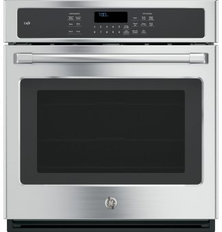GE Cafe Series 27 Built-In Single Convection Wall Oven
