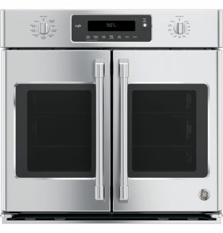 GE Cafe Series 30 Built-In French-Door Single Convection Wall Oven