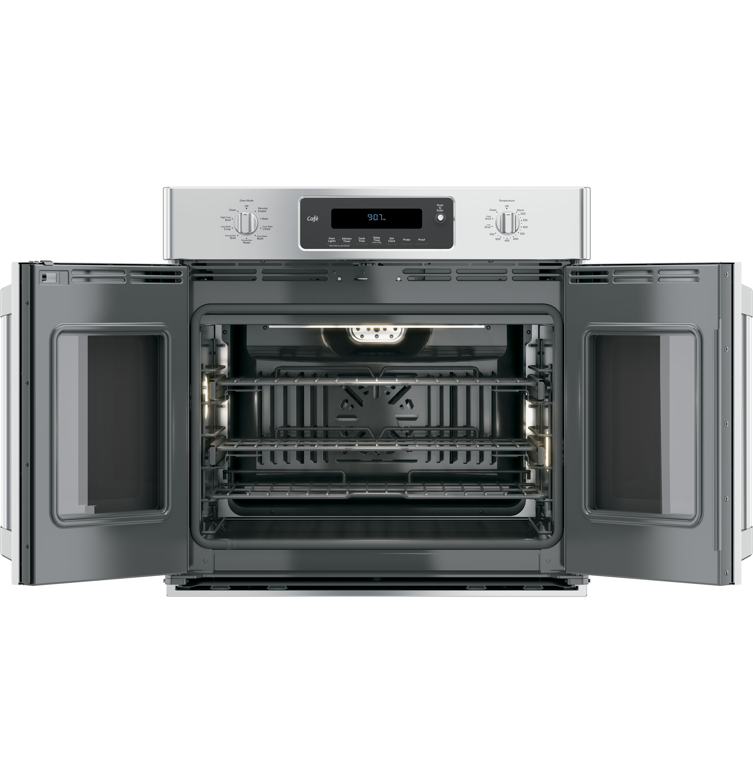 Ge Caf 233 Series 30 Quot Built In French Door Single Convection