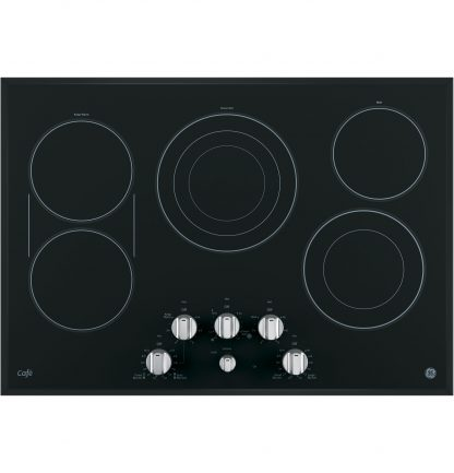 GE Cafe Series 30 Built-In Knob Control Electric Cooktop