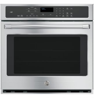 GE Cafe Series 30 Built-In Single Convection Wall Oven