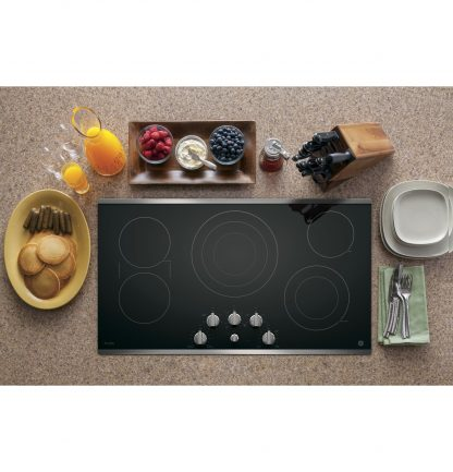 GE Profile Series 36 Built-In Knob Control Cooktop