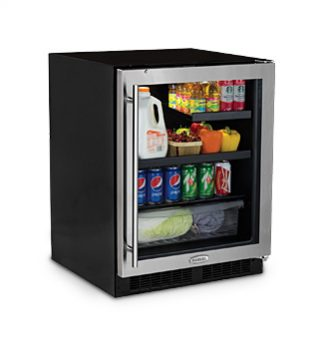 "Marvel low profile 24"" under counter refrigerator"