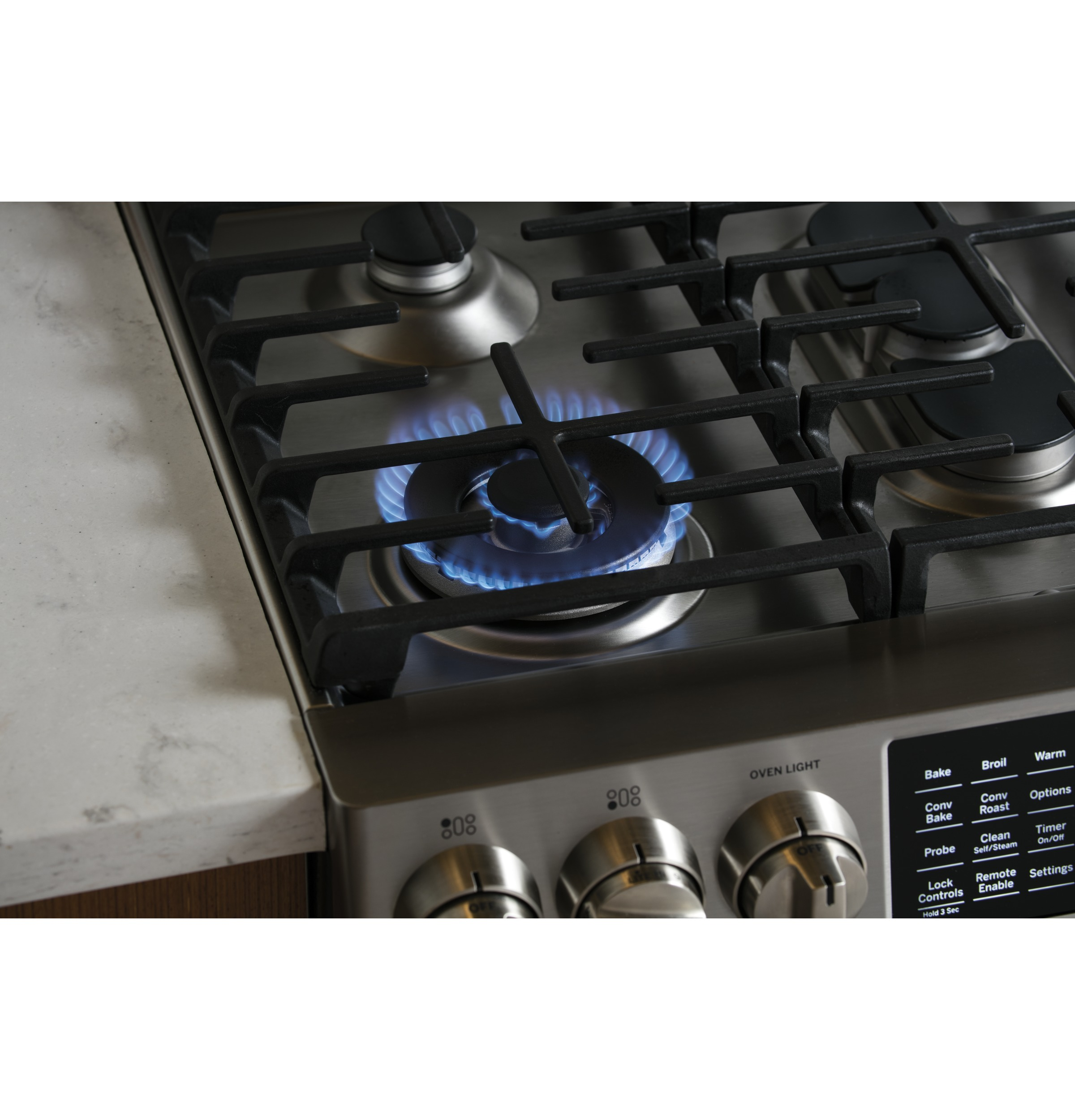 GE P2S930SELSS Sealed Burner Cooktop